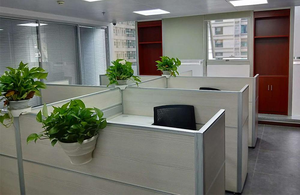 L形屏风办公桌